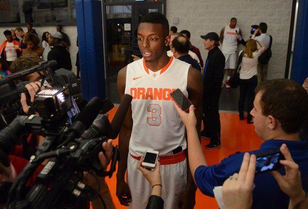 Syracuse basketball player
