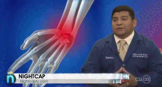 Dr. Loredo Talks Carpal Tunnel on Nightcap TV