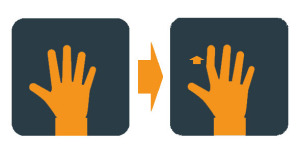 Hand Exercises Illustration- Finger Lifts1