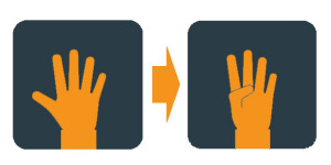 Hand Exercises Illustration- Thumb Extensions1